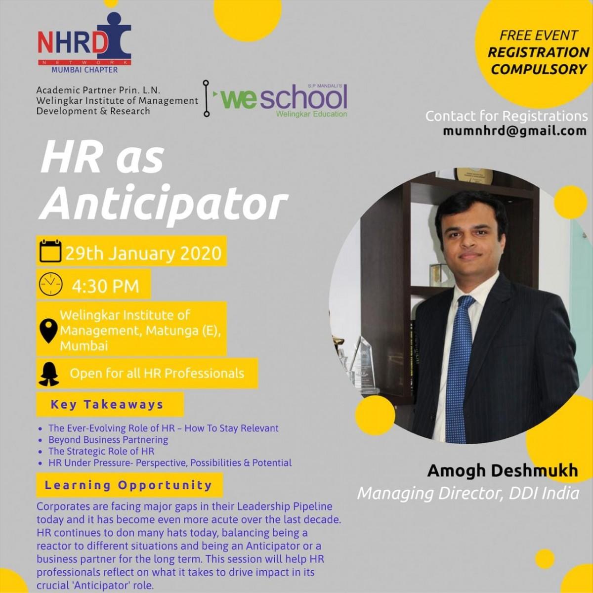 NHRDN - Mumbai Chapter Home