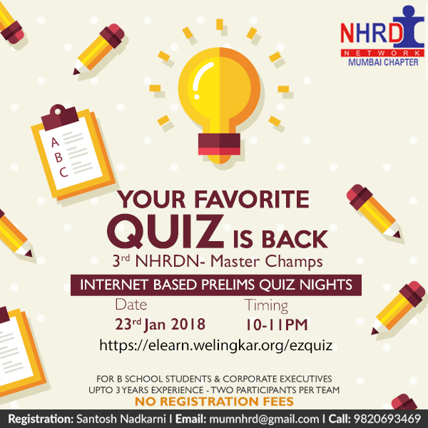 NHRDN Quiz 2018